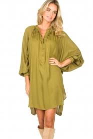 Genesis |  Tunic dress Sofia | green  | Picture 4