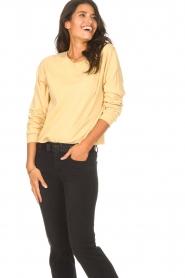 Blaumax |  Soft sweater Ash | yellow  | Picture 4