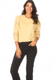 Blaumax |  Soft sweater Ash | yellow  | Picture 5