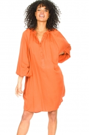 Genesis |  Tunic dress Sofia | orange  | Picture 2