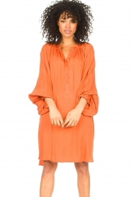 Genesis |  Tunic dress Sofia | orange  | Picture 4