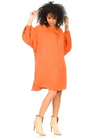 Genesis |  Tunic dress Sofia | orange  | Picture 3