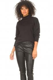 Blaumax |  Basic sweater Ash | black  | Picture 5