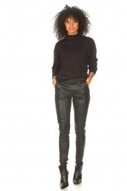 Blaumax |  Basic sweater Ash | black  | Picture 3