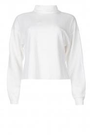 Blaumax |  Basic sweater Ash | white  | Picture 1