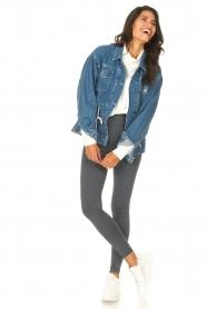 Blaumax |  Basic sweater Ash | white  | Picture 3