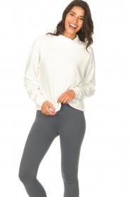 Blaumax |  Basic sweater Ash | white  | Picture 6