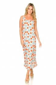 Genesis |  Maxi dress with floral print Melia | natural  | Picture 2