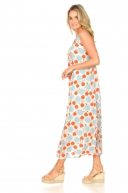 Genesis |  Maxi dress with floral print Melia | natural  | Picture 5