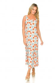 Genesis |  Maxi dress with floral print Melia | natural  | Picture 3
