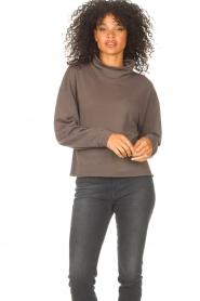 Blaumax |  Basic sweater Ash | grey  | Picture 3