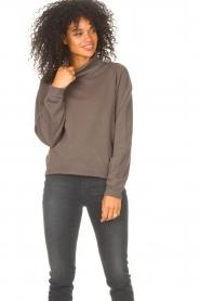 Blaumax |  Basic sweater Ash | grey  | Picture 4