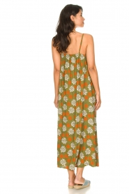 Genesis |  Maxi dress with floral print Melia | green  | Picture 6