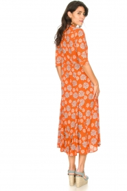 Genesis |  Maxi dress with floral print Asha | red  | Picture 6
