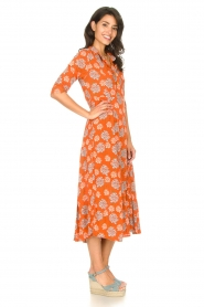 Genesis |  Maxi dress with floral print Asha | red  | Picture 5