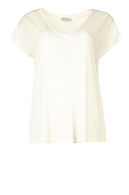 JC Sophie |  Modal T-shirt Goldy | white  | Picture 1