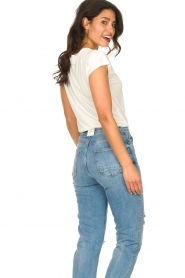 JC Sophie :  Modal T-shirt Goldy | white - img6
