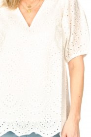 JC Sophie |  Embroidery top Gracie | white  | Picture 7