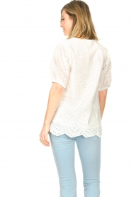 JC Sophie |  Embroidery top Gracie | white  | Picture 6