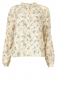 JC Sophie |  Print blouse Ghandi | green  | Picture 1