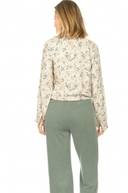 JC Sophie |  Print blouse Ghandi | green  | Picture 7