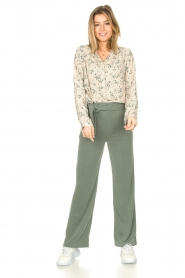 JC Sophie |  Print blouse Ghandi | green  | Picture 3