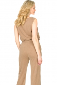 JC Sophie |  Sleeveless top Gwendoline | brown  | Picture 6