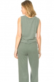 JC Sophie |  Sleeveless top Gwendoline | green  | Picture 5