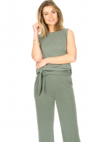 JC Sophie |  Sleeveless top Gwendoline | green  | Picture 2
