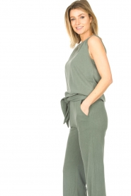 JC Sophie |  Sleeveless top Gwendoline | green  | Picture 4