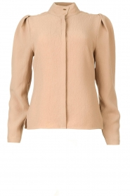 Dante 6 |  Blouse with puff sleeves Honore | beige  | Picture 1