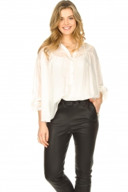 JC Sophie |  Tencel blouse Gemma | white  | Picture 4