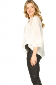JC Sophie |  Tencel blouse Gemma | white  | Picture 5