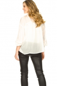 JC Sophie |  Tencel blouse Gemma | white  | Picture 6
