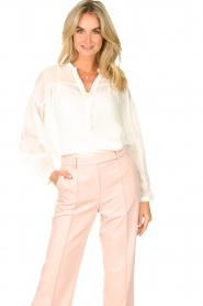 JC Sophie |  Tencel blouse Gemma | white  | Picture 2