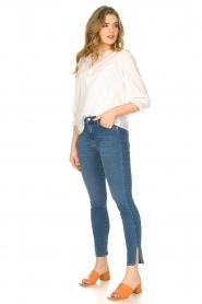 JC Sophie |  Cotton blouse Garnett | white  | Picture 3