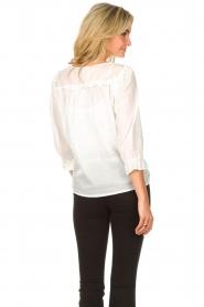 JC Sophie |  Cotton blouse Garnett | white  | Picture 6
