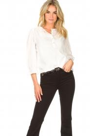 JC Sophie |  Cotton blouse Garnett | white  | Picture 2