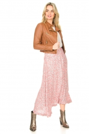 JC Sophie |  Floral maxi skirt Gianna | pink  | Picture 4
