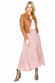 JC Sophie |  Floral maxi skirt Gianna | pink  | Picture 2