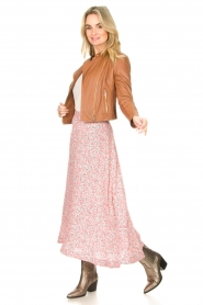 JC Sophie |  Floral maxi skirt Gianna | pink  | Picture 5