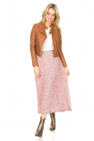 JC Sophie |  Floral maxi skirt Gianna | pink  | Picture 3