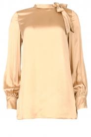 Dante 6    Silk top Iman   beige    Picture 1