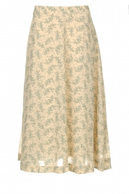 JC Sophie |  Floral midi skirt Gianna | beige  | Picture 1