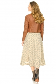 JC Sophie |  Floral midi skirt Gianna | beige  | Picture 6