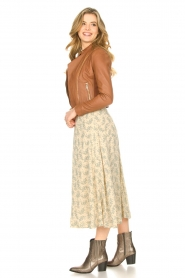 JC Sophie |  Floral midi skirt Gianna | beige  | Picture 5