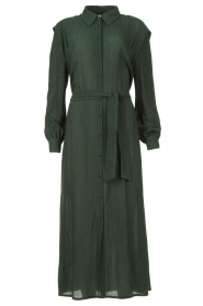 Dante 6 |  Maxi dress with crêpe fabric Jones | green   | Picture 1