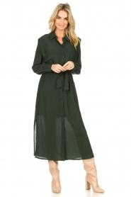 Dante 6    Maxi dress with small side split Jones  green     Picture 4