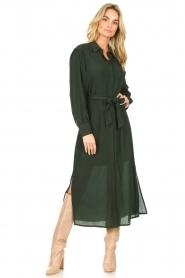 Dante 6    Maxi dress with small side split Jones  green     Picture 2