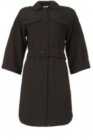 Dante 6 |  Dress crêpe fabric Chevanne | black  | Picture 1